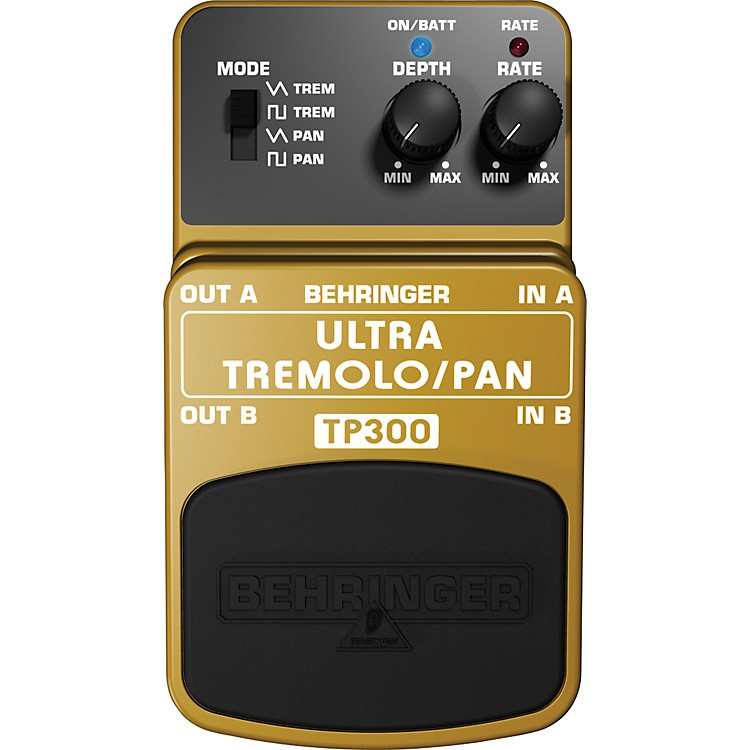 BehringerTP300 Ultra Tremolo/Pan Effects Pedal