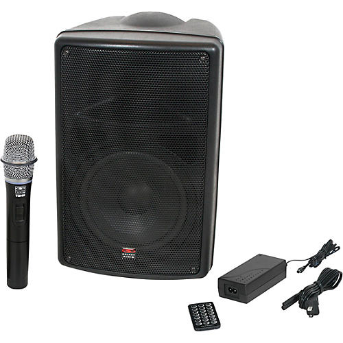 Galaxy Audio TQ8-40H0N Traveler Quest Portable PA With One Receiver And One Handheld Microphone-thumbnail