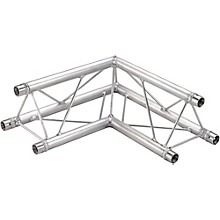 Open Box GLOBAL TRUSS TR96112-21 1.64 Ft. (.5 M) 2-Way 90-Degree Up/Down Corner Apex Triangle Truss