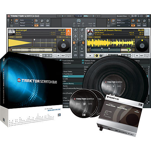 Native Instruments TRAKTOR SCRATCH DUO DJ Software/Hardware Package