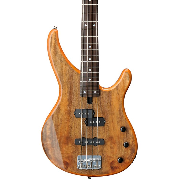 yamaha trbx174ew mango wood 4 string electric bass guitar