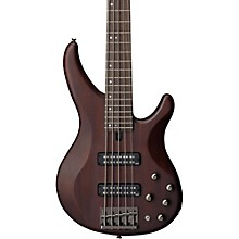 TRBX505 5-String Premium Electric Bass Transparent Brown Rosewood Fretboard