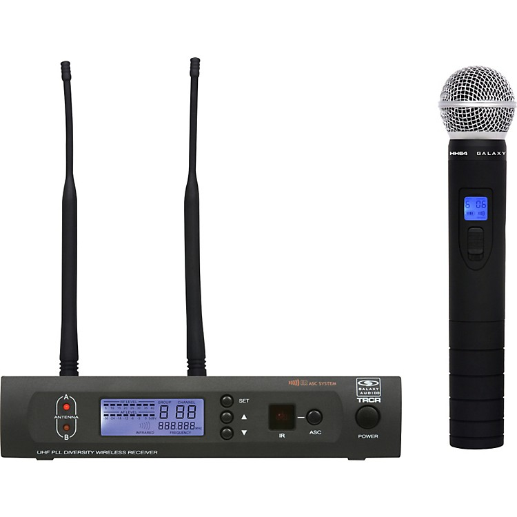 Galaxy AudioTRC HH64 Handheld Wireless System