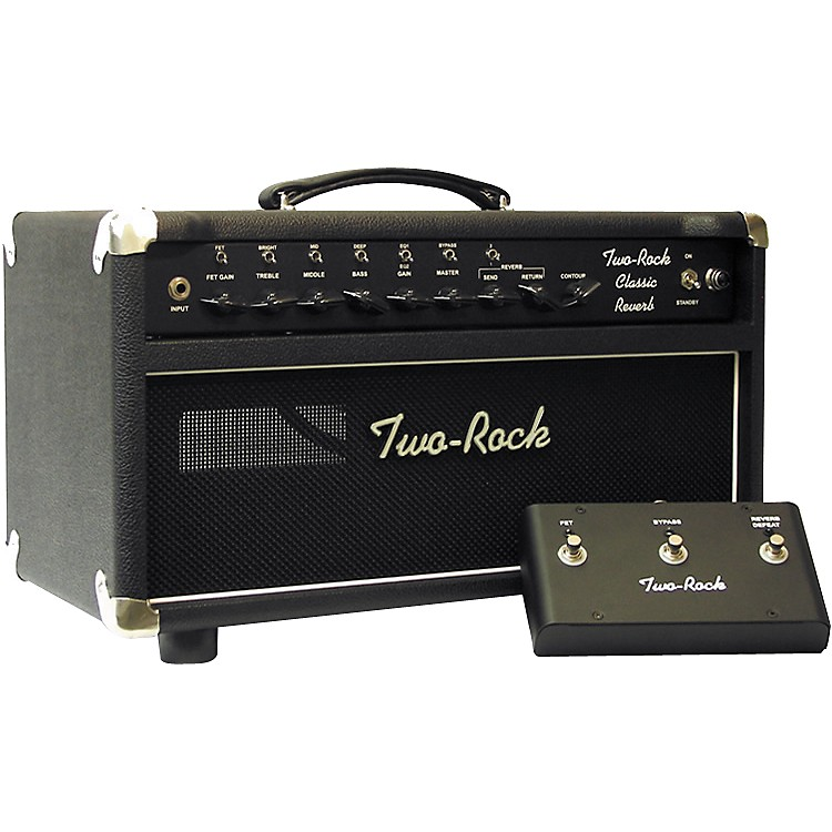 Two Rock TRCR100HD 100W Classic Reverb Tube Guitar Amp Head