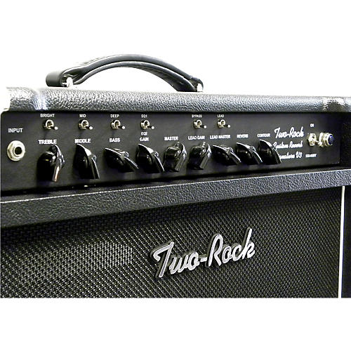 Two Rock TRCU50CMTR Custom Reverb v3 TR 50W Tube Guitar Combo Amp-thumbnail