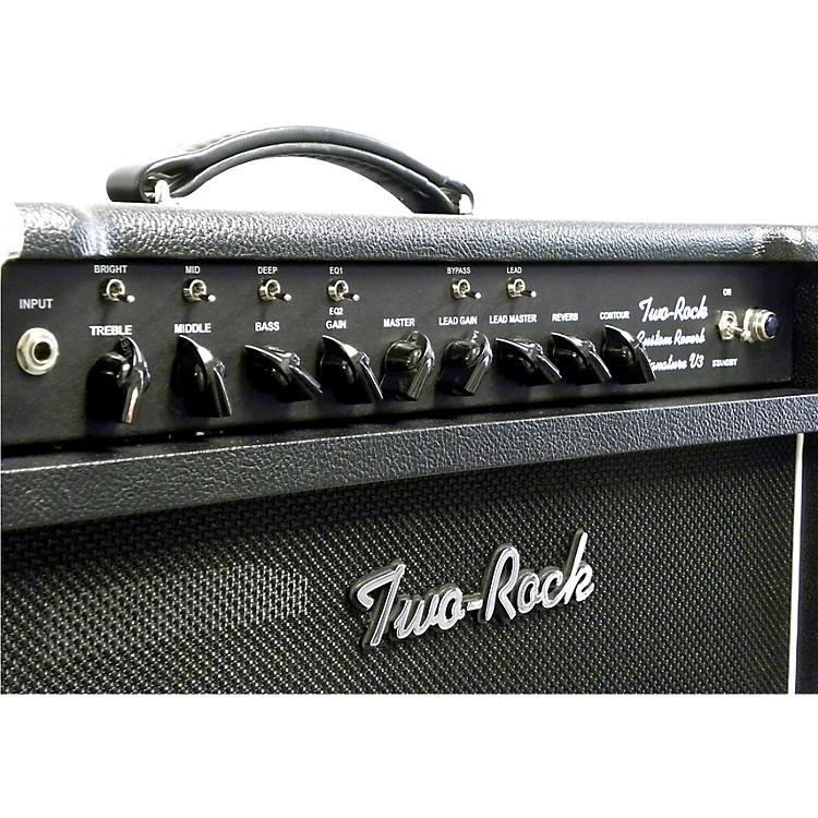 Two RockTRCU50CMTR Custom Reverb v3 TR 50W Tube Guitar Combo AmpBlonde
