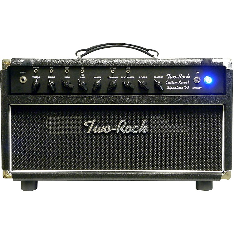 Two Rock TRCU50HDSS Custom Reverb v3 SS 50W Tube Guitar Amp Head
