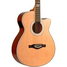 EKO TRI Series Auditorium Cutaway Acoustic-Electric Guitar