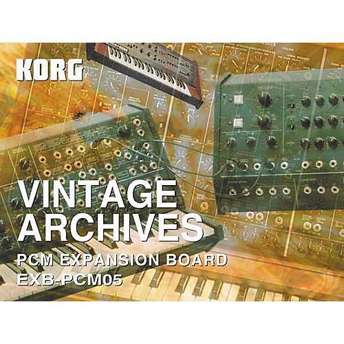 Korg TRITON EXB-PCM05 Vintage Archives Expansion Card-thumbnail