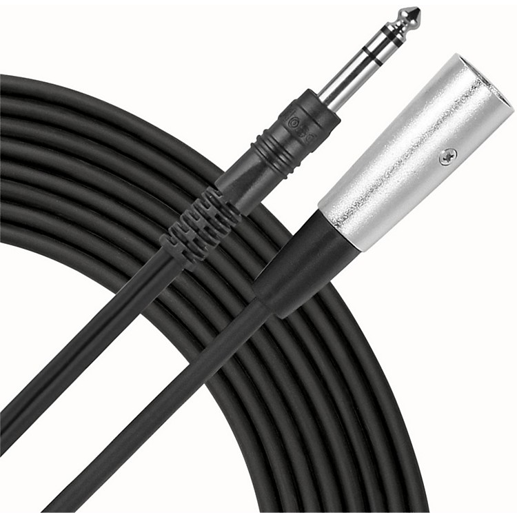 Live Wire TRS-XLR(M) Patch Cable  10 Foot