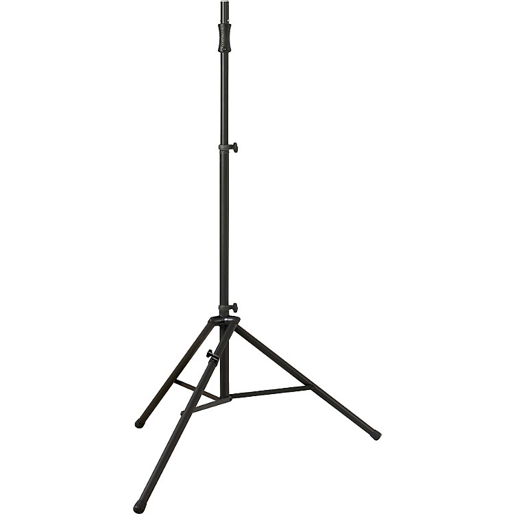 Ultimate Support TS-110 Air Lift Speaker Stand with Leveling Leg Black