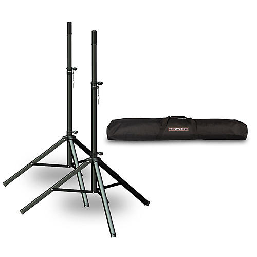 Ultimate Support TS-70 Speaker Stand 2-Pack with Musicians Gear Speaker Stand Bag-thumbnail