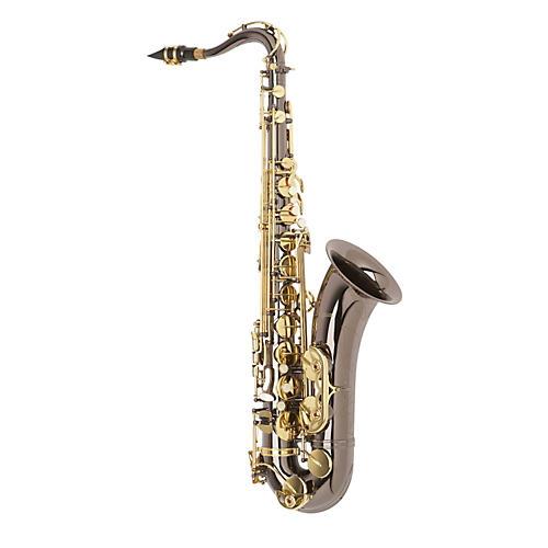 Antigua Winds TS3220 Series Intermediate Bb Tenor Saxophone Black Nickel Plated Lacquered keys