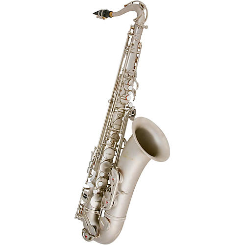 Antigua Winds TS4240 Power Bell Series Professional Bb Tenor Saxophone Classic Nickel Finish