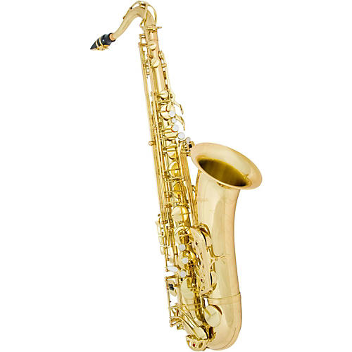 Antigua Winds TS4240 Power Bell Series Professional Bb Tenor Saxophone Silver Plated Body Gold Plated keys