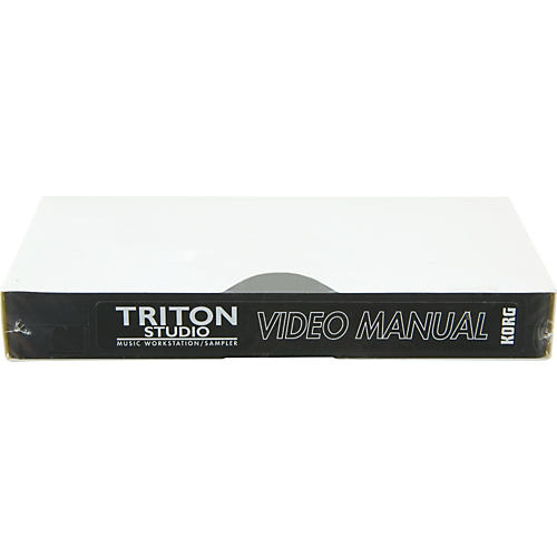 Korg TSVDO Vol 2 TRITON Studio Advanced Video Manual