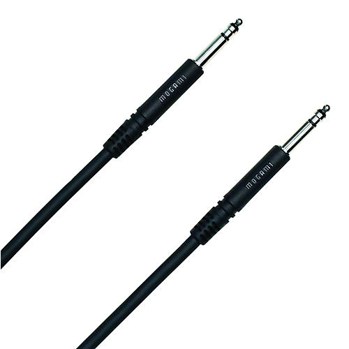 Mogami TT-TT Patch Cable Black 18 in.