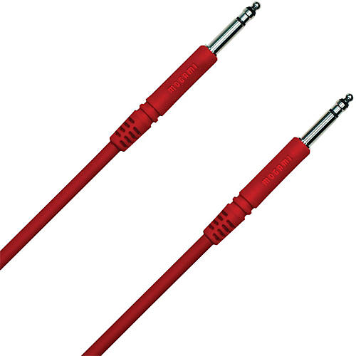 Mogami TT-TT Patch Cable Red 12 in.