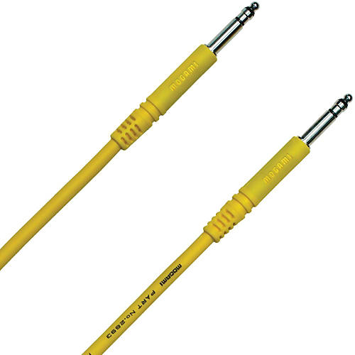 Mogami TT-TT Patch Cable Yellow 6 in.