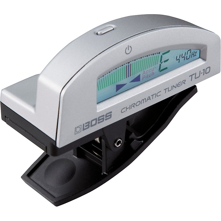 Boss TU-10 Clip-On Chromatic Tuner Black