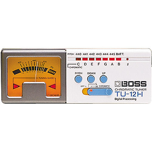 Boss TU-12H High-Range Chromatic Tuner