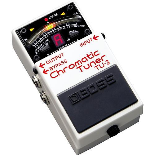 Boss TU-3 Chromatic Pedal Tuner-thumbnail