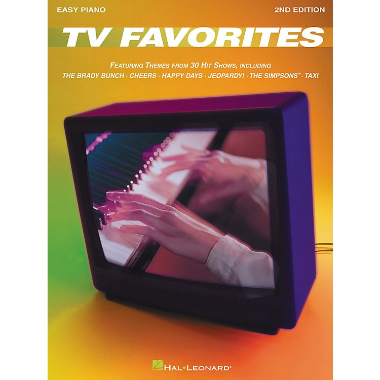 Hal Leonard TV Favorites 2nd Edition For Easy Piano