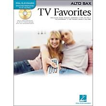 Hal Leonard TV Favorites for Alto Sax Book/CD