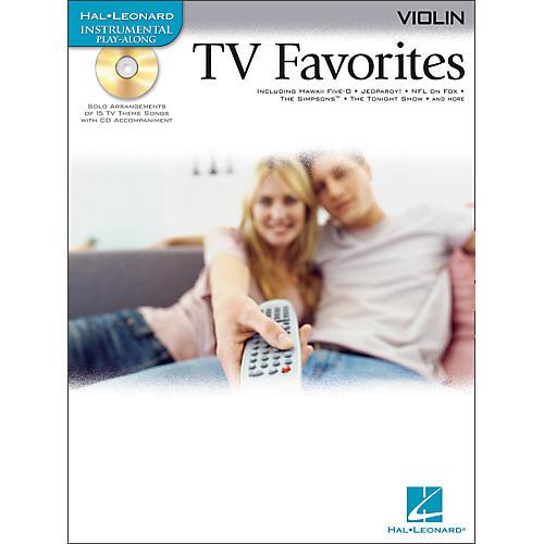 Hal Leonard TV Favorites for Violin Book/CD