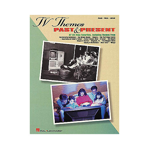 Hal Leonard TV Themes Past & Present Piano, Vocal, Guitar Songbook