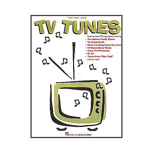 Hal Leonard TV Tunes Piano/Vocal/Guitar Songbook-thumbnail