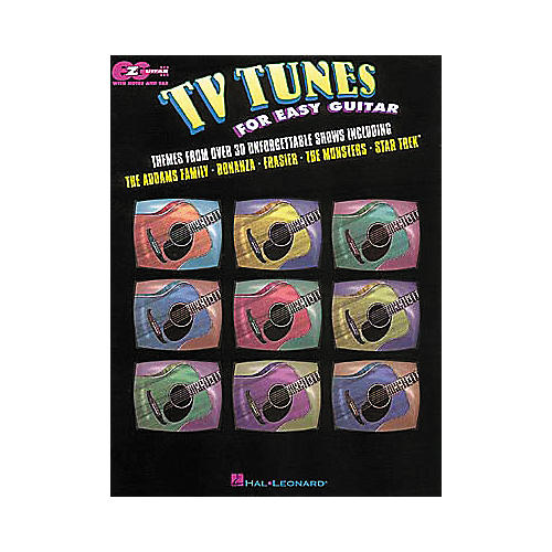 Hal Leonard TV Tunes for Easy Guitar Book