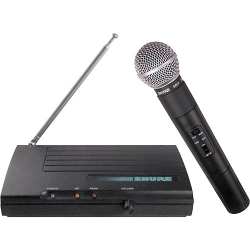 Shure TV58S Single Handheld Microphone