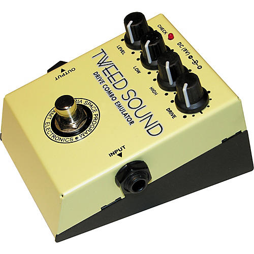 AMT Electronics TWS Tweed Sound Overdrive Guitar Effects Pedal-thumbnail