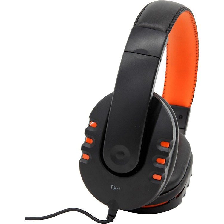 Fostex TX-1 Headphones Orange