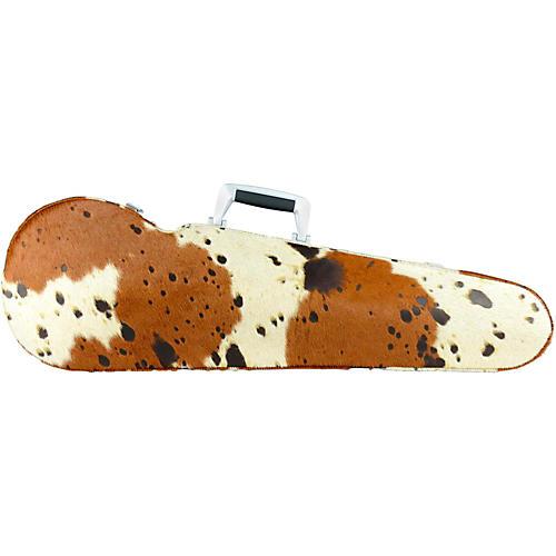 Bam TX2002XL Texas Contoured Hightech Cow Skin Violin Case Cow Skin
