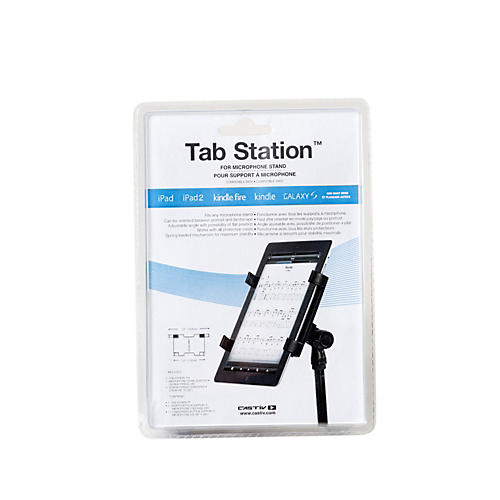 Castiv Tab Station for Mic Stand - iPad & Tablet Computer Adapter for Microphone Stand
