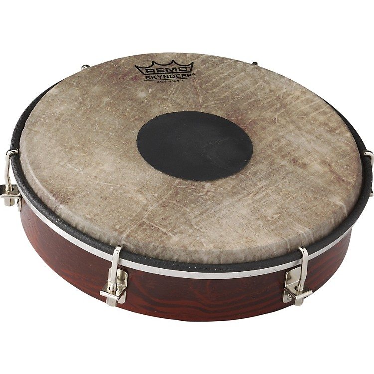 Remo Tablatone Frame Drum Brown & White Skyndeep Fish Skin 8 inch