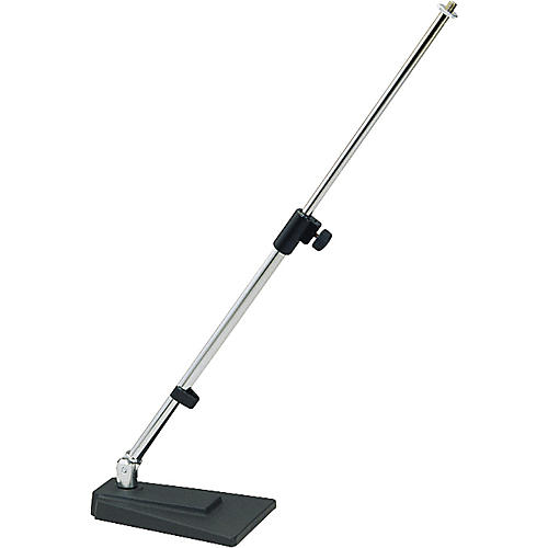 K&M Table Floor Microphone Stand-thumbnail