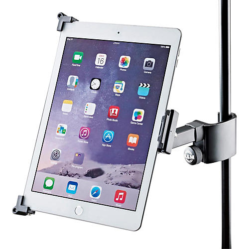 K&M Tablet Holder - Clamp-on Mount-thumbnail