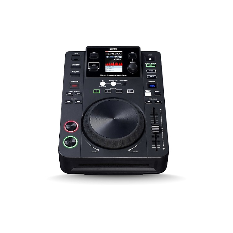 GeminiTabletop mp3/aac/aiff/wav CD Player