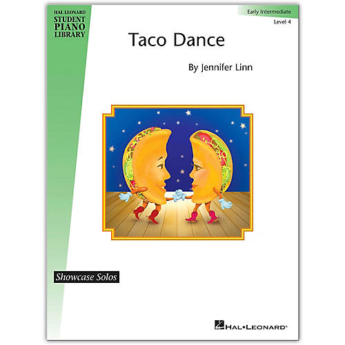 Hal Leonard Taco Dance - Hal Leonard Student Piano Library Showcase Solo Level 4/Early Intermediate-thumbnail
