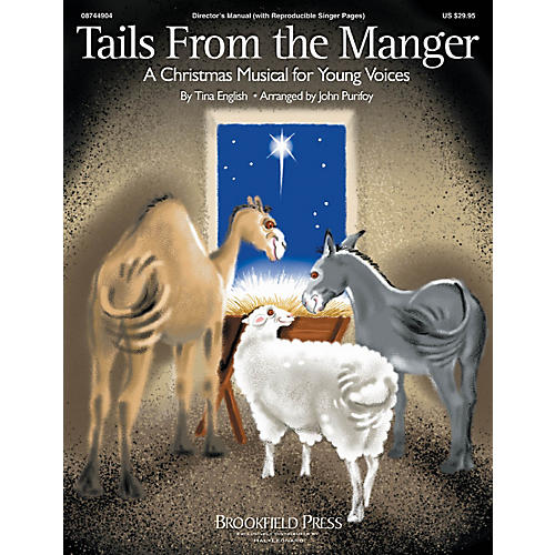 Hal Leonard Tails from the Manger CHOIRTRAX CD Composed by Tina English