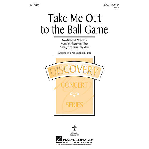 Hal Leonard Take Me Out To The Ball Game (Discovery Level 2) 2-Part arranged by Cristi Cary Miller-thumbnail