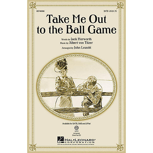 Hal Leonard Take Me Out to the Ball Game 2-Part Arranged by John Leavitt-thumbnail