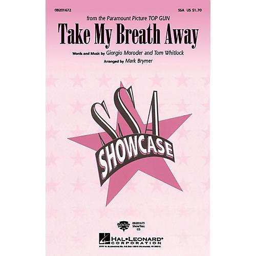 Hal Leonard Take My Breath Away ShowTrax CD Arranged by Mark Brymer-thumbnail