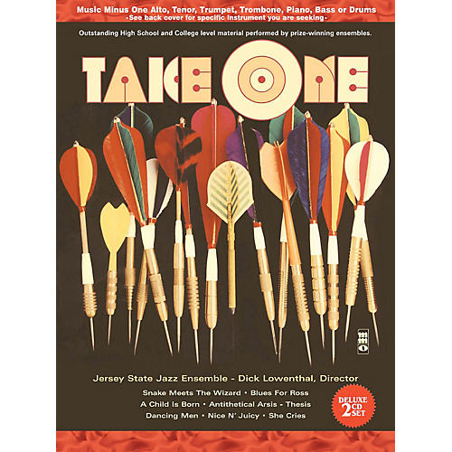 Music Minus One Take One (Minus Bass/Electric Bass) (Deluxe 2-CD Set) Music Minus One Series Softcover with CD-thumbnail
