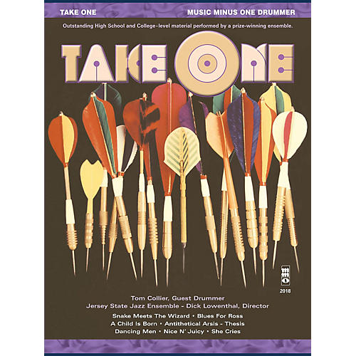 Music Minus One Take One (Minus Drums) Music Minus One Series Softcover with CD