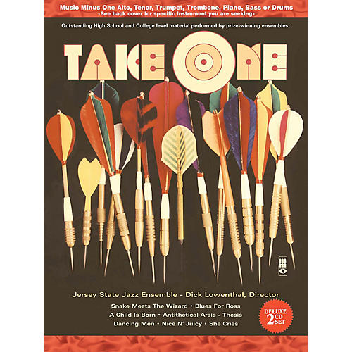 Music Minus One Take One (Minus Piano) (Deluxe 2-CD Set) Music Minus One Series Softcover with CD-thumbnail