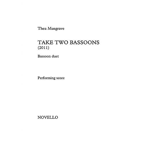 Novello Take Two Bassoons Music Sales America Series Book by Thea Musgrave-thumbnail